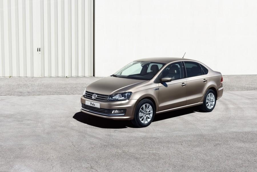 Volkswagen Polo седан, 2015–2016, 5 поколение [рестайлинг] - отзывы, фото и характеристики на Car.ru