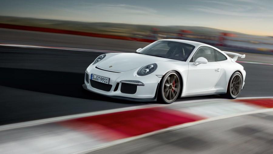 Porsche 911 GT3 купе 2-дв., 2012–2016, 991 [рестайлинг] - отзывы, фото и характеристики на Car.ru