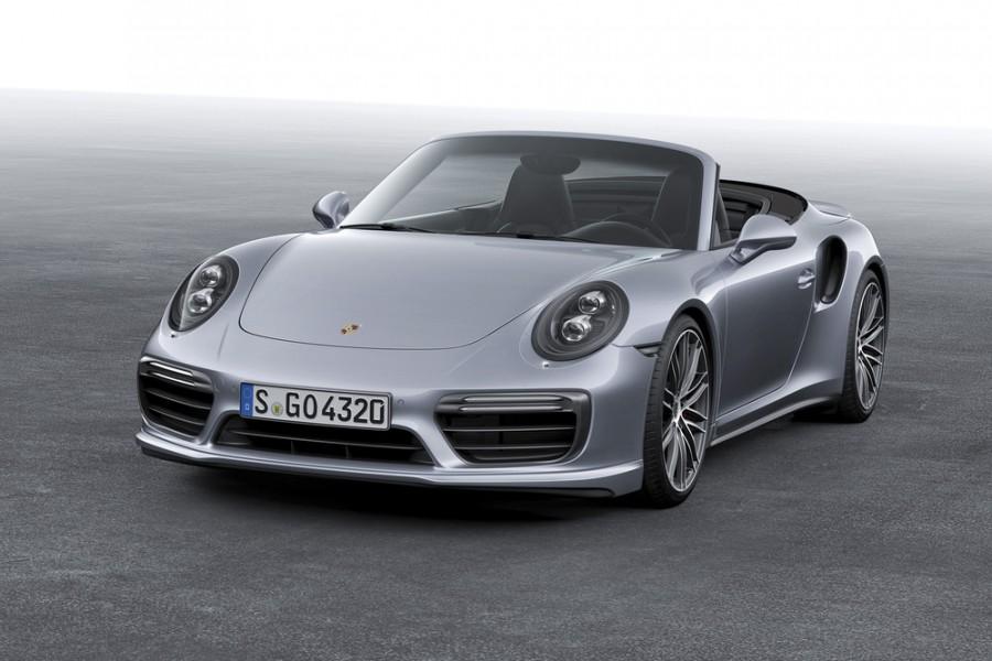 Porsche 911 Turbo кабриолет 2-дв., 2012–2016, 991 [рестайлинг] - отзывы, фото и характеристики на Car.ru
