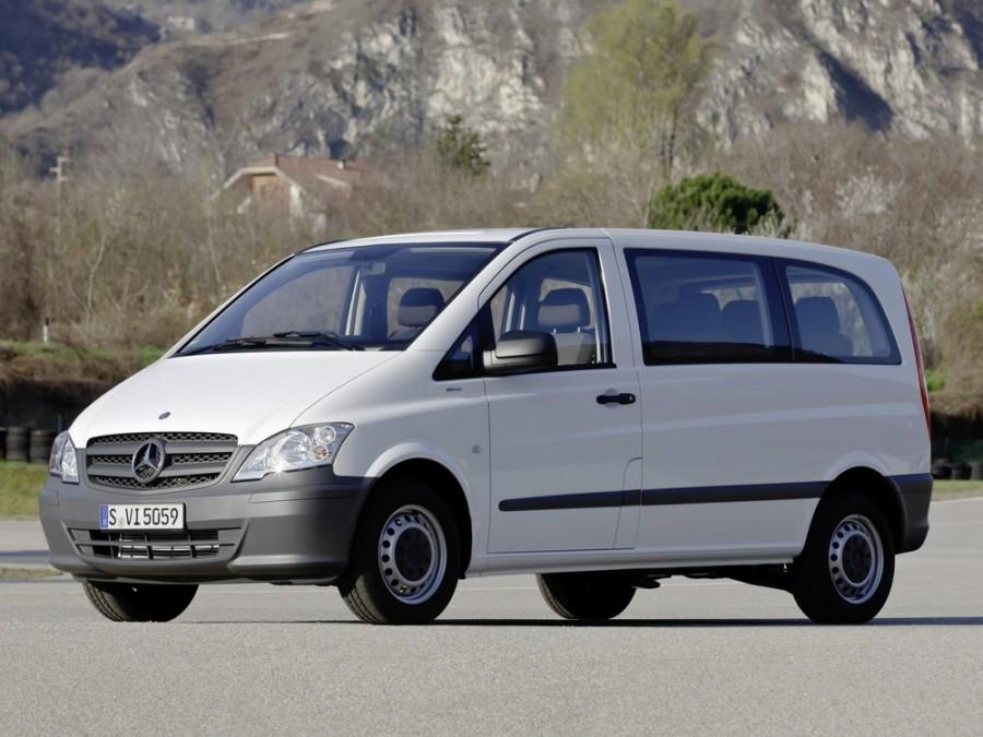 Mercedes Vito микроавтобус 4-дв., 2010–2015, W639 [рестайлинг] - отзывы, фото и характеристики на Car.ru