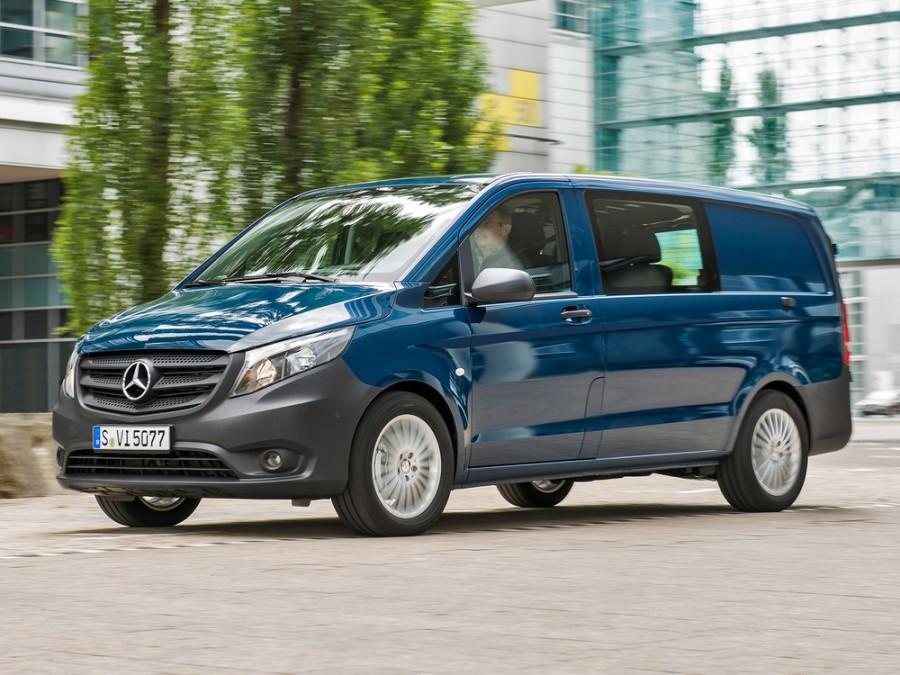 Mercedes Vito Mixto микроавтобус 4-дв., 2014–2016, W447 - отзывы, фото и характеристики на Car.ru