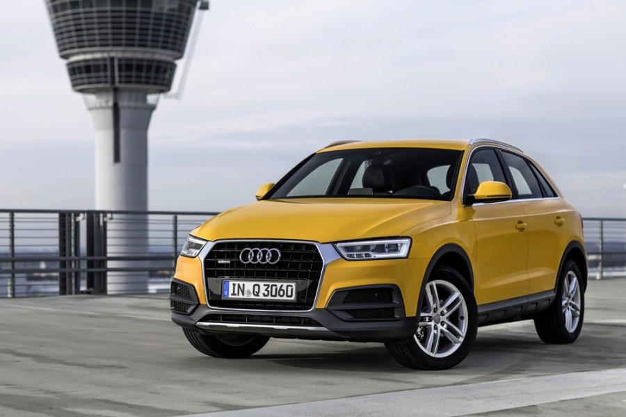 Audi Q3 кроссовер, 2015–2016, 8U [рестайлинг] - отзывы, фото и характеристики на Car.ru