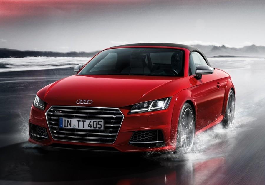 Audi TT S родстер 2-дв., 2014–2016, 8S - отзывы, фото и характеристики на Car.ru