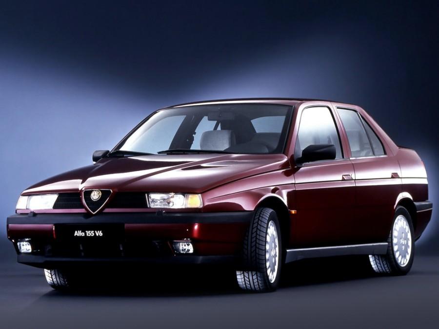 AlfaRomeo 155 седан, 1995–1997, 167 [рестайлинг] - отзывы, фото и характеристики на Car.ru
