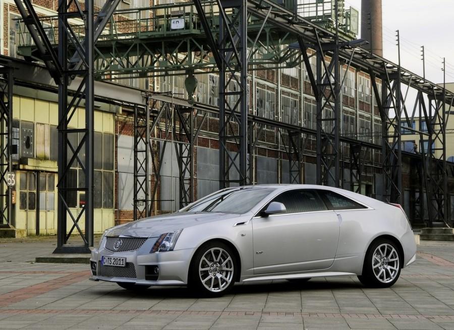 Cadillac CTS V купе 2-дв., 2007–2016, 2 поколение - отзывы, фото и характеристики на Car.ru