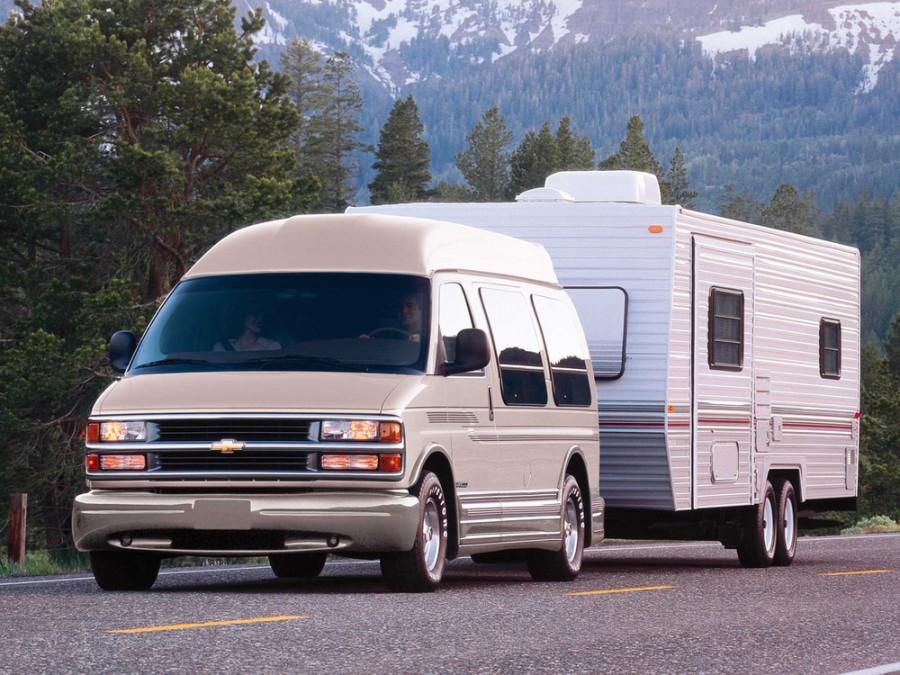 Chevrolet Astro Conversion микроавтобус 4-дв., 1995–2005, 2 поколение - отзывы, фото и характеристики на Car.ru