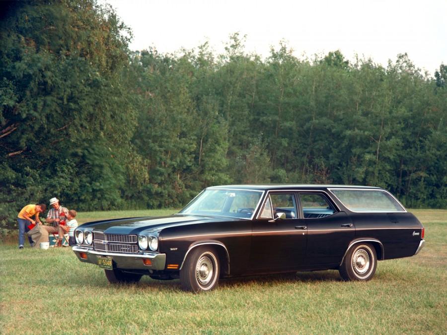 Chevrolet Chevelle Concours Station Wagon универсал 5-дв., 1970, 2 поколение [2-й рестайлинг] - отзывы, фото и характеристики на Car.ru
