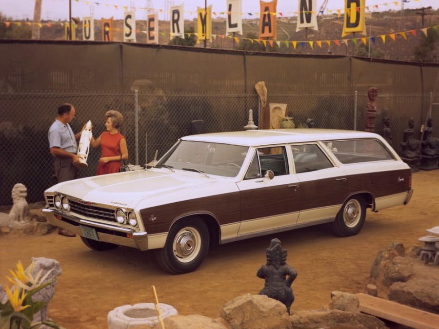 Chevrolet Chevelle Concours универсал 5-дв., 1967, 1 поколение [3-й рестайлинг] - отзывы, фото и характеристики на Car.ru