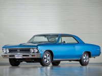 Chevrolet Chevelle, 1 поколение [2-й рестайлинг], Sport coupe ss купе 2-дв., 1966