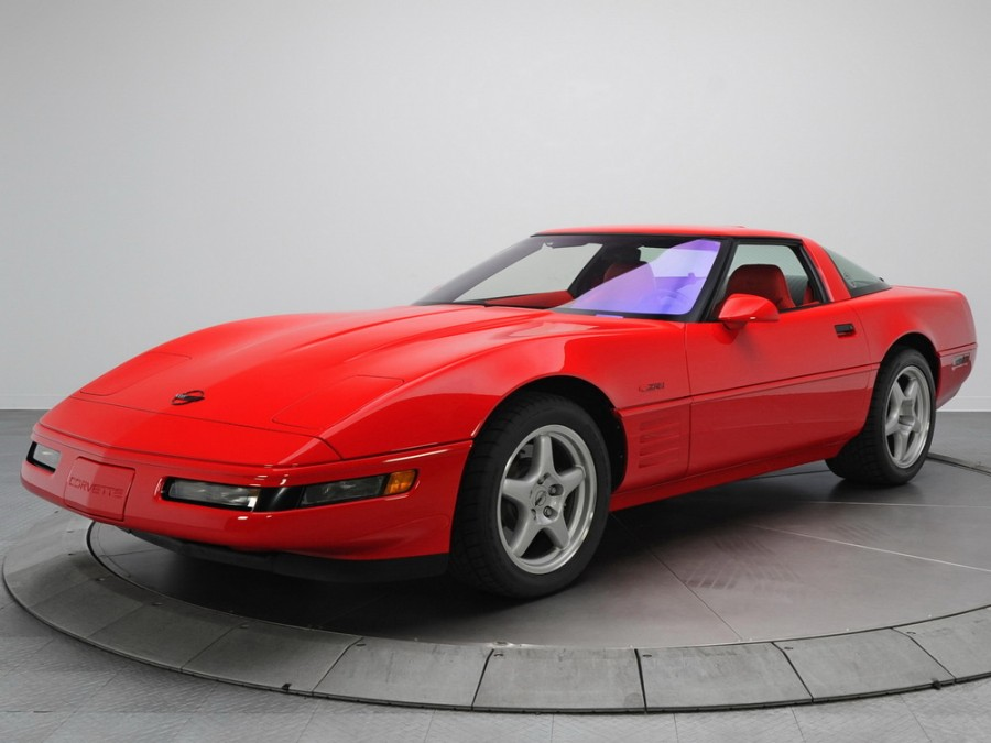 Chevrolet Corvette ZR1 тарга 2-дв., 1991–1996, C4 [2-й рестайлинг] - отзывы, фото и характеристики на Car.ru
