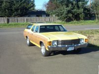 Chevrolet Chevelle, 2 поколение [4-й рестайлинг], Concours estate wagon универсал 5-дв., 1972