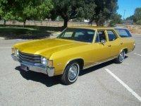 Chevrolet Chevelle, 2 поколение [4-й рестайлинг], Concours station wagon универсал 5-дв., 1972