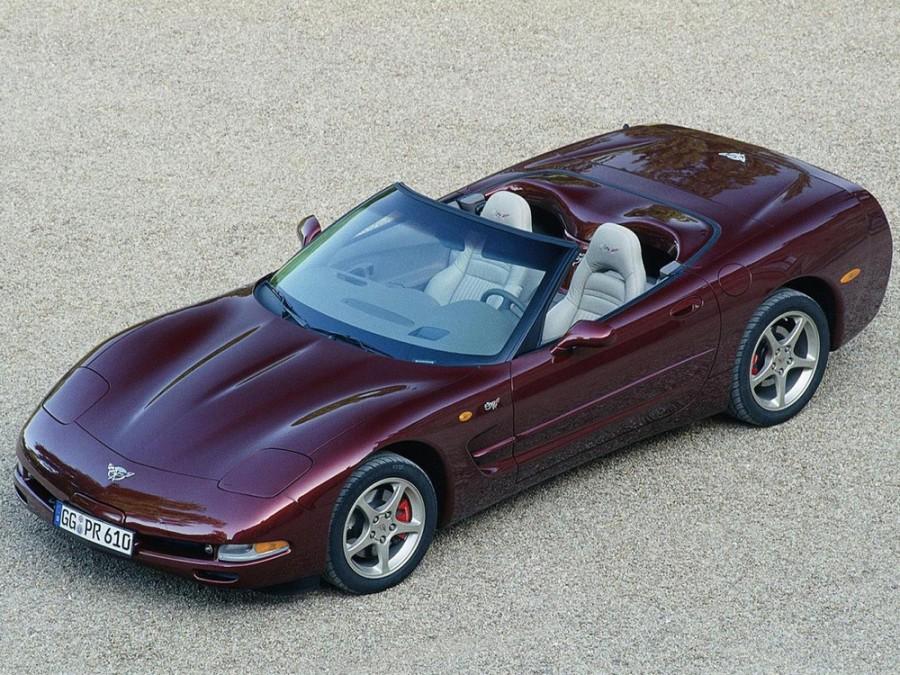 Chevrolet Corvette 50th Anniversary кабриолет 2-дв., 1997–2004, C5 - отзывы, фото и характеристики на Car.ru