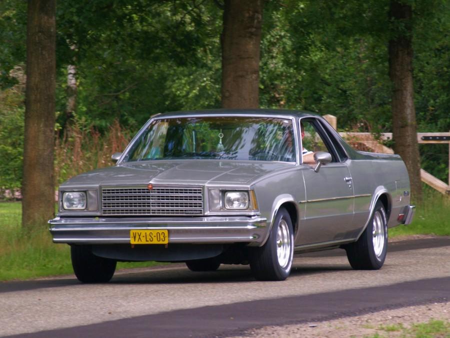 Chevrolet El Camino Classic пикап 2-дв., 1979, 5 поколение [рестайлинг] - отзывы, фото и характеристики на Car.ru