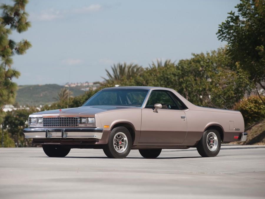 Chevrolet El Camino Classic пикап 2-дв., 1982–1987, 5 поколение [4-й рестайлинг] - отзывы, фото и характеристики на Car.ru