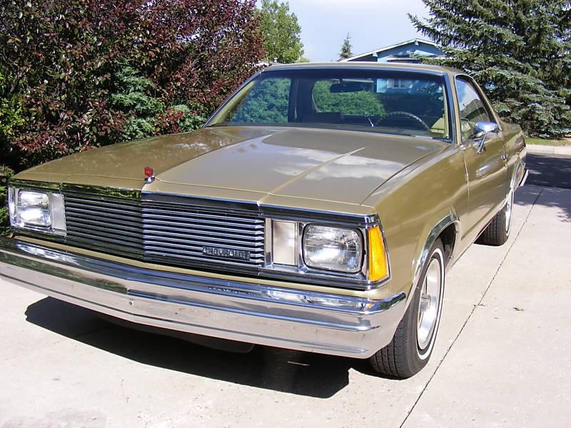 Chevrolet El Camino Classic пикап 2-дв., 1981, 5 поколение [3-й рестайлинг] - отзывы, фото и характеристики на Car.ru