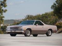 Chevrolet El Camino, 5 поколение [4-й рестайлинг], Classic пикап 2-дв., 1982–1987