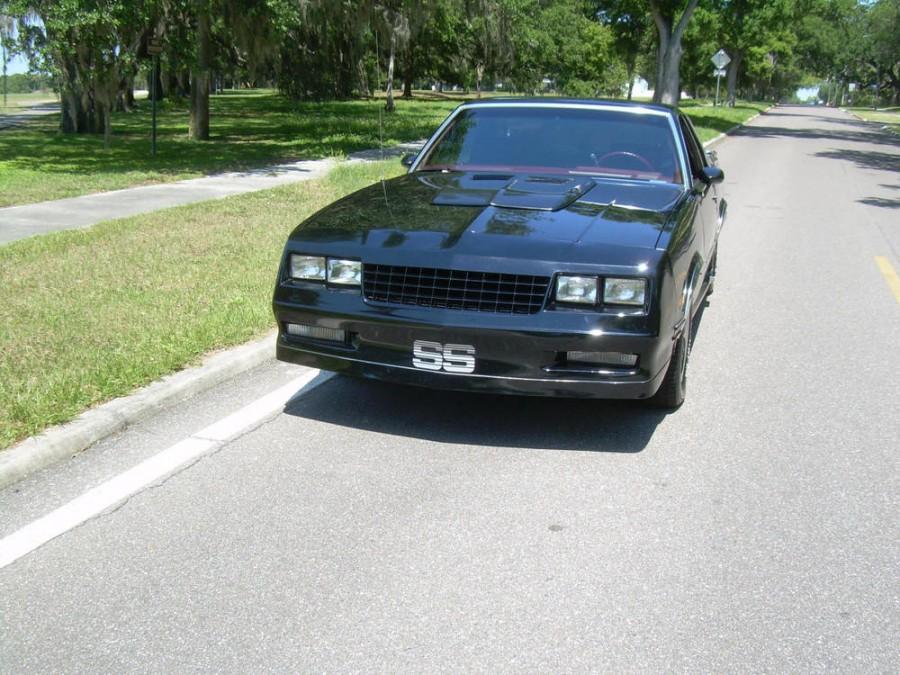 Chevrolet El Camino SS Sport trim пикап 2-дв., 1982–1987, 5 поколение [4-й рестайлинг] - отзывы, фото и характеристики на Car.ru