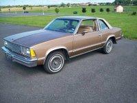 Chevrolet Malibu, 1 поколение [3-й рестайлинг], Classic купе 2-дв., 1981