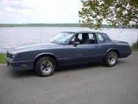 Chevrolet Monte Carlo, 4 поколение [2-й рестайлинг], Ss купе 2-дв., 1983–1985