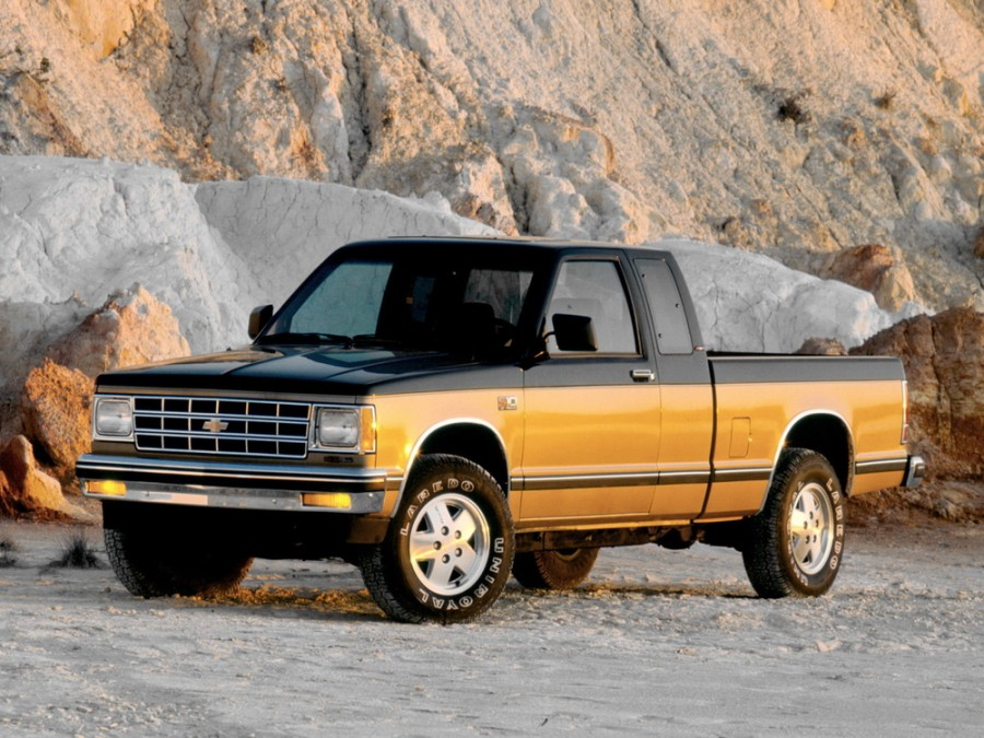 Chevrolet S10 Extended Cab пикап 2-дв., 1982–1993, 1 поколение - отзывы, фото и характеристики на Car.ru