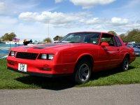 Chevrolet Monte Carlo, 4 поколение [3-й рестайлинг], Ss тарга 2-дв., 1986–1988