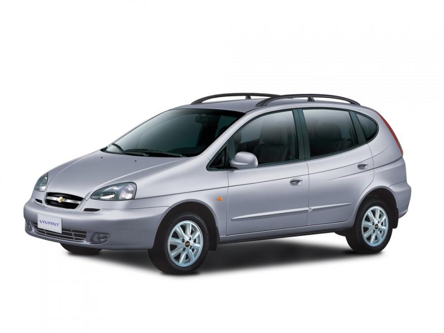 Chevrolet Vivant минивэн, 2004–2008, 1 поколение - отзывы, фото и характеристики на Car.ru