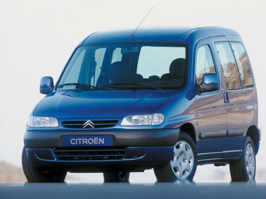 Citroen Berlingo минивэн, 1996–2002, 1 поколение - отзывы, фото и характеристики на Car.ru