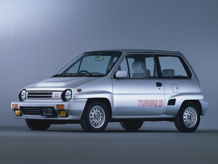 Honda City Turbo II хетчбэк 3-дв., 1 поколение - отзывы, фото и характеристики на Car.ru