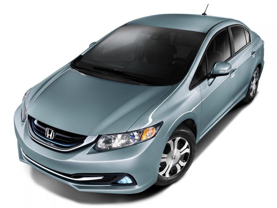 Honda Civic Hybrid седан 4-дв., 2013–2016, 9 поколение [рестайлинг] - отзывы, фото и характеристики на Car.ru