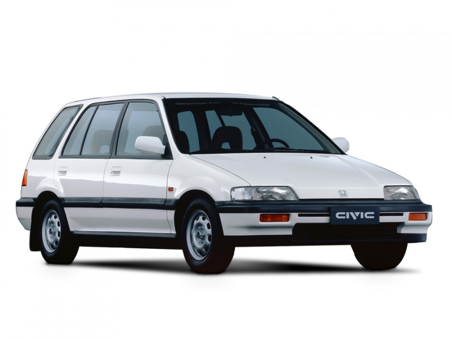 Honda Civic Shuttle универсал 5-дв., 1987–1996, 4 поколение - отзывы, фото и характеристики на Car.ru