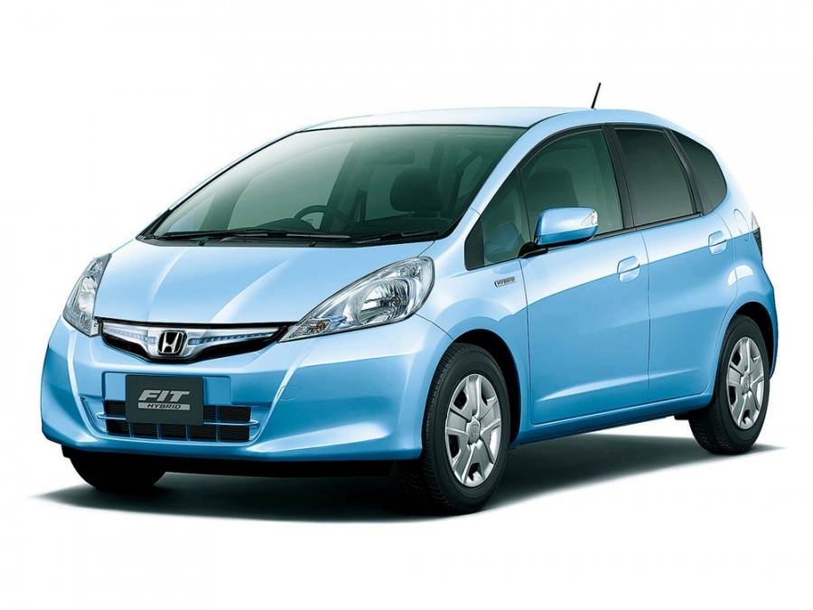 Honda Fit Hybrid хетчбэк 5-дв., 2010–2016, 2 поколение [рестайлинг] - отзывы, фото и характеристики на Car.ru