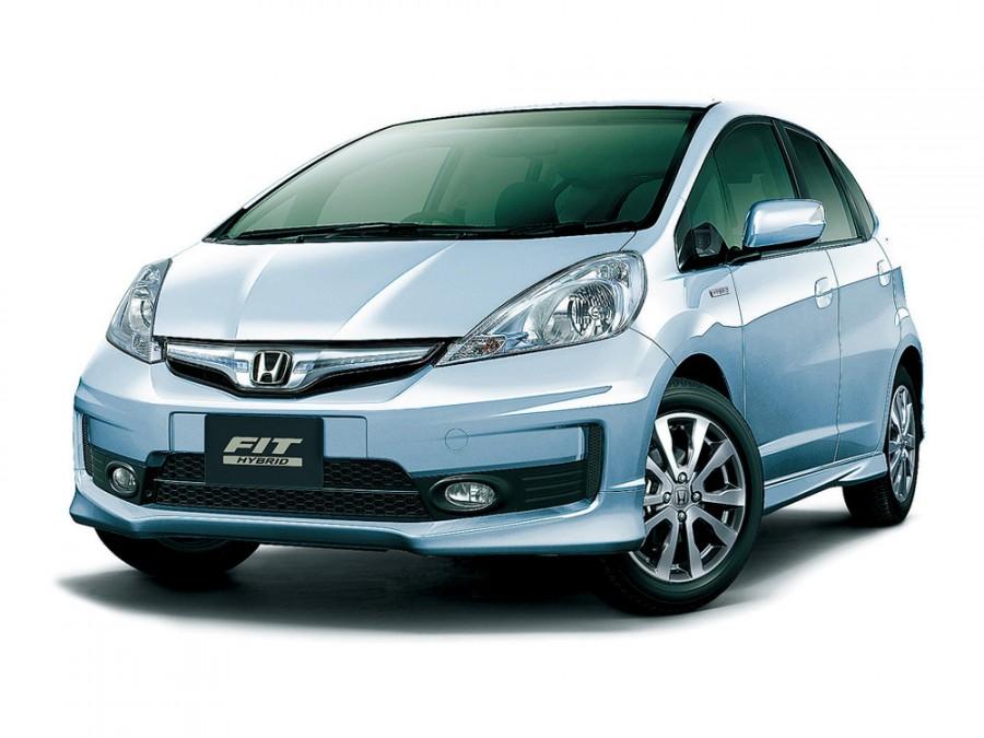 Honda Fit RS Hybrid хетчбэк 5-дв., 2010–2016, 2 поколение [рестайлинг] - отзывы, фото и характеристики на Car.ru