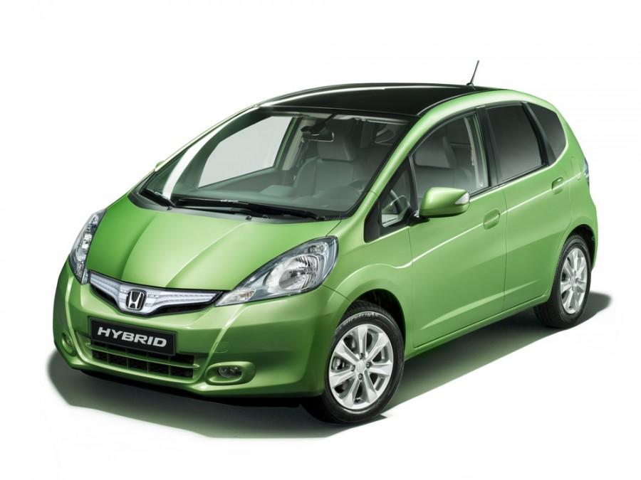 Honda Jazz Hybrid хетчбэк 5-дв., 2010–2016, 2 поколение [рестайлинг] - отзывы, фото и характеристики на Car.ru