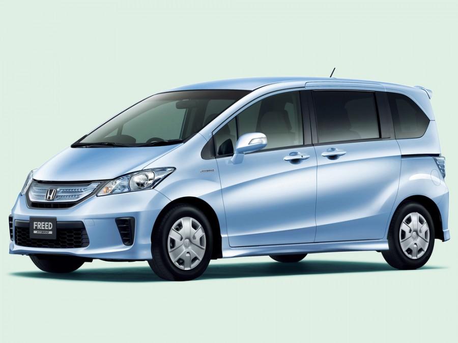 Honda Freed Hybrid минивэн 5-дв., 2011–2016, 1 поколение [рестайлинг] - отзывы, фото и характеристики на Car.ru