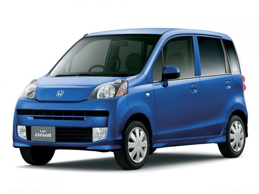 Honda Life Diva хетчбэк 5-дв., 2008–2010, 5 поколение - отзывы, фото и характеристики на Car.ru