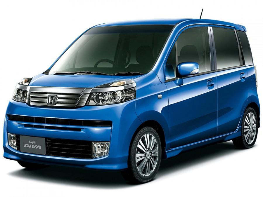 Honda Life Diva хетчбэк 5-дв., 2010–2016, 5 поколение [рестайлинг] - отзывы, фото и характеристики на Car.ru