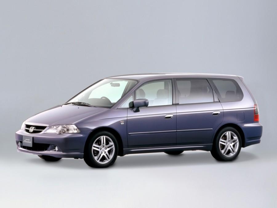 Honda Odyssey Absolute минивэн 5-дв., 2001–2004, 2 поколение [рестайлинг] - отзывы, фото и характеристики на Car.ru