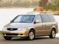 Honda Odyssey, 2 поколение [рестайлинг], Us-spec минивэн 5-дв., 2001–2004