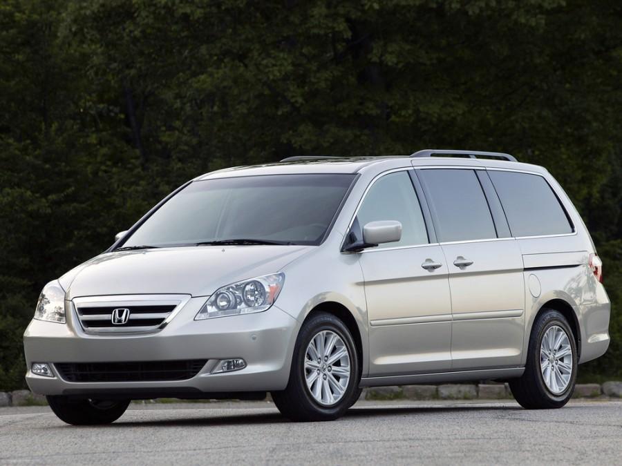 Honda Odyssey US-spec минивэн 5-дв., 2003–2007, 3 поколение - отзывы, фото и характеристики на Car.ru