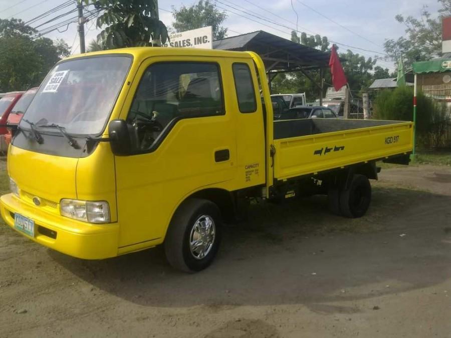 Kia Bongo Super Cab борт 2-дв., 1997–2000, Frontier - отзывы, фото и характеристики на Car.ru