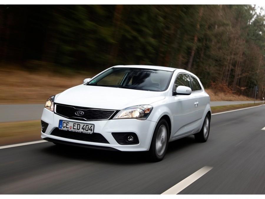 Kia Ceed Pro_ceed хетчбэк 3-дв., 2010–2012, 1 поколение [рестайлинг] - отзывы, фото и характеристики на Car.ru