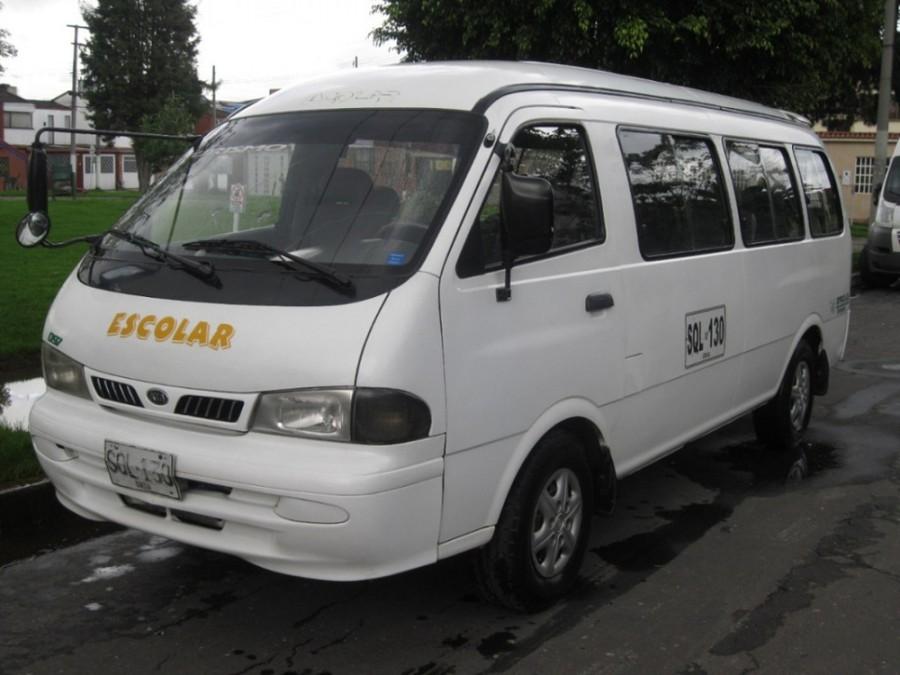 Kia Pregio Grand микроавтобус 4-дв., 1995–2003, 1 поколение - отзывы, фото и характеристики на Car.ru
