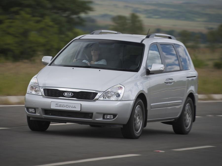 Kia Sedona SWB минивэн 5-дв., 2010–2016, 2 поколение [рестайлинг] - отзывы, фото и характеристики на Car.ru