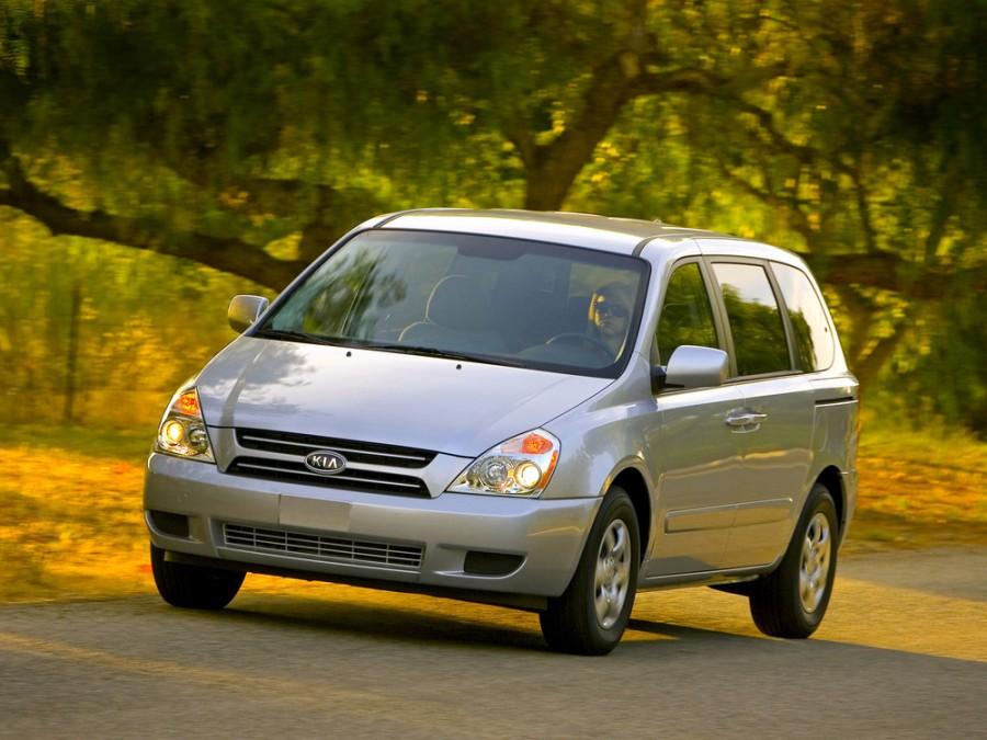 Kia Sedona SWB минивэн 5-дв., 2006–2010, 2 поколение - отзывы, фото и характеристики на Car.ru