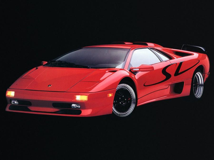 Lamborghini Diablo SV купе 2-дв., 1993–1998, 1 поколение - отзывы, фото и характеристики на Car.ru