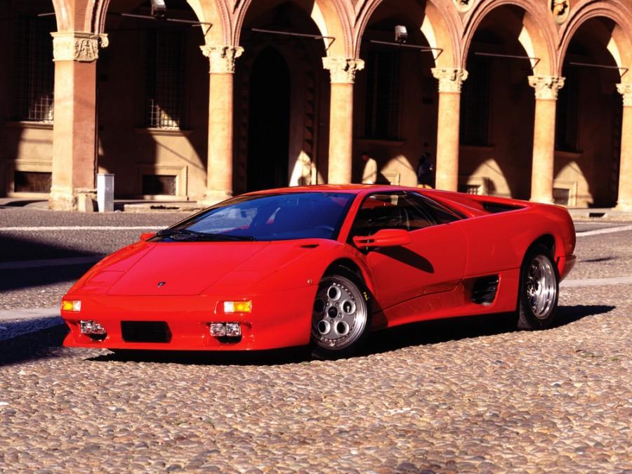 Lamborghini Diablo VT купе 2-дв., 1993–1998, 1 поколение - отзывы, фото и характеристики на Car.ru