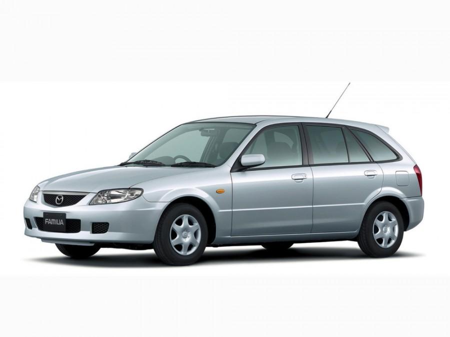 Mazda Familia хетчбэк 5-дв., 2000–2003, 9 поколение [рестайлинг] - отзывы, фото и характеристики на Car.ru