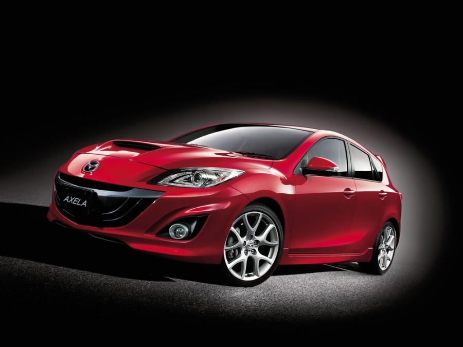 Mazda Axela Mazdaspeed хетчбэк 5-дв., 2009–2012, 2 поколение - отзывы, фото и характеристики на Car.ru