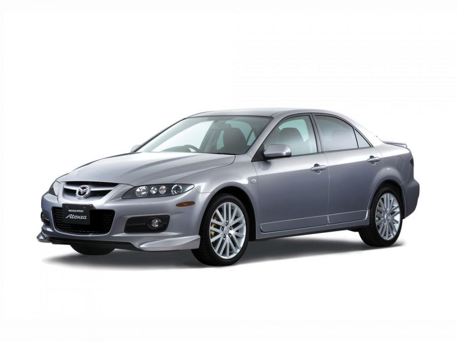 Mazda Atenza Mazdaspeed седан 4-дв., 2005–2007, 1 поколение [рестайлинг] - отзывы, фото и характеристики на Car.ru